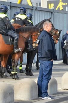 Vooralsnog alleen NAC-aanhang opgepakt na rellen NAC-Willem II
