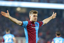 Sørloth zoals ze hem bij Trabzonspor leerden kennen: juichend.