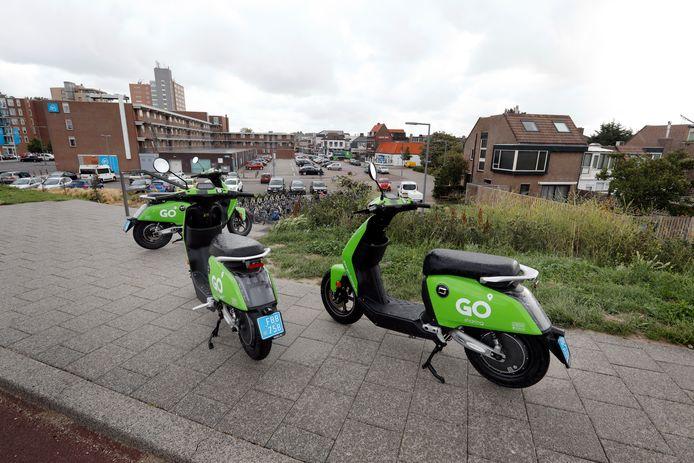 Sinds vorige week zijn de deelscooters van GO Sharing te vinden in Hoek van Holland.