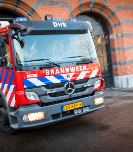 Brand in gebouw woongroep Leeuwarden, gewonde naar ziekenhuis