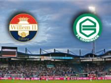LIVE | Willem II zonder Ndayishimiye op zoek naar goede vorm