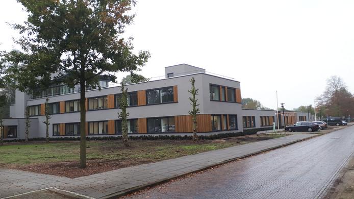 Het nieuwe uiterlijk van het hoofdgebouw van de Binckhorst na de renovatie