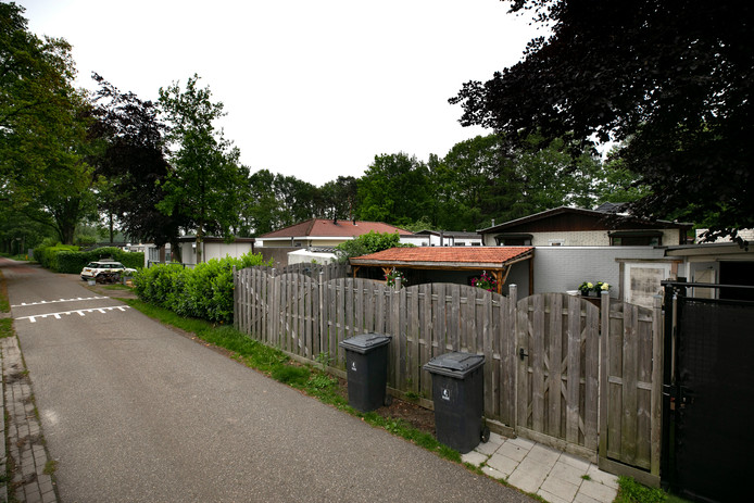 Woonwagenkamp Kremersbos in Nuenen.