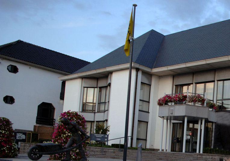Het gemeentehuis in Keerbergen