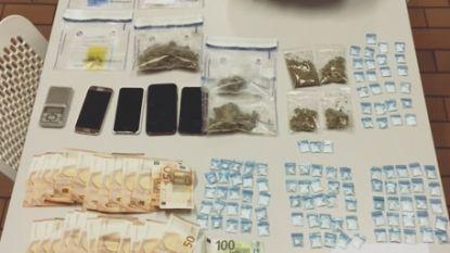 Politie controleert op vuurwerk en vindt meer dan kilo wiet en 90 gram coke