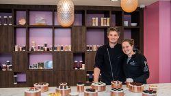 """""""Liefde voor chocolade bracht ons samen"""": de eerste zomer van Justine (30) en Niels (29) van Goût Fou"""