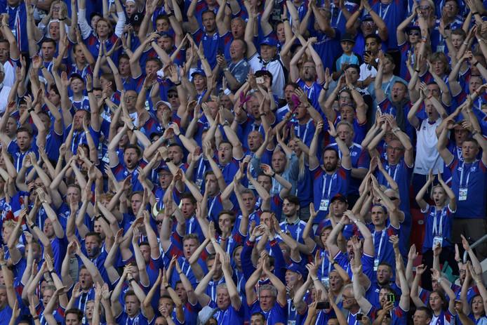 Fans van IJsland.
