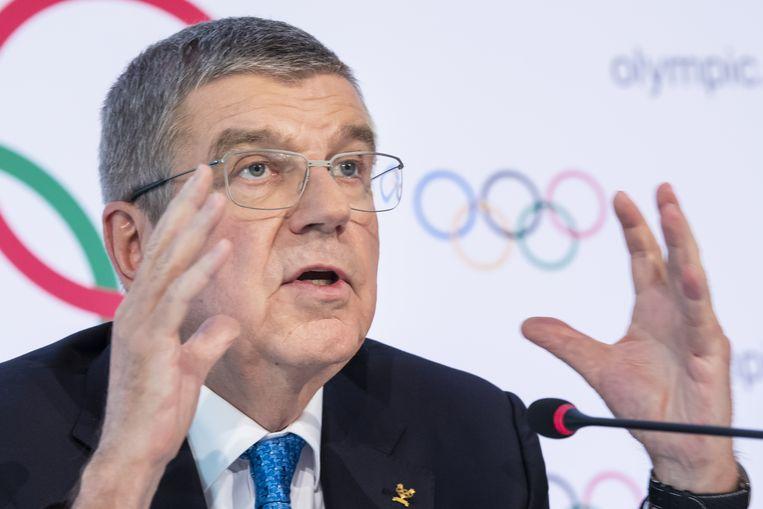 IOC-voorzitter Thomas Bach.