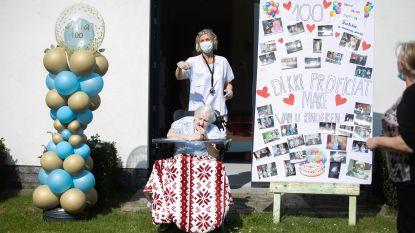 Julia Lismont wordt 100 jaar en krijgt haar eigen lockdownparty