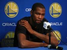 Ribblessure houdt ook Durant aan de kant bij de Warriors
