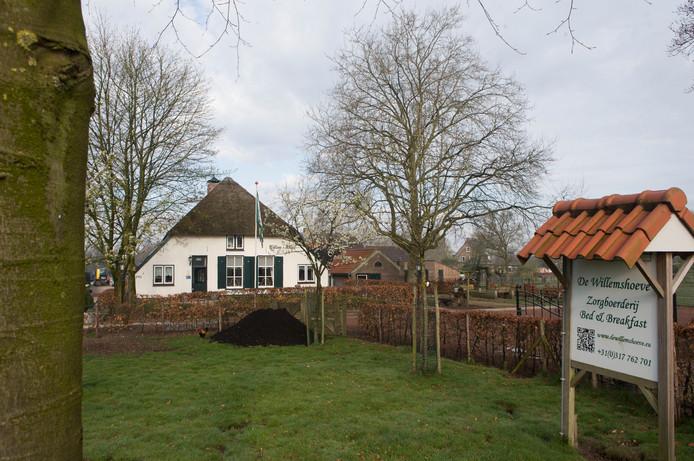 Zorgboerderij de Willemshoeve.
