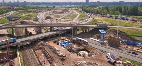 Ruim vier dagen hinder door afbraak van bruggen aan Antwerpen-West