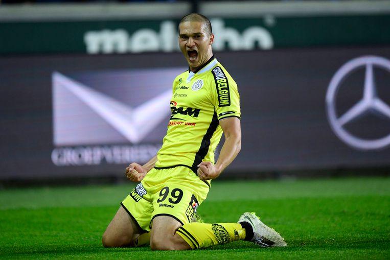 Djordje Jovanovic scoorde, maar trof ook twee keer de paal.