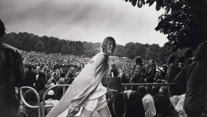 Popfestival in het Amsterdamse Bos, 26 juni 1971
