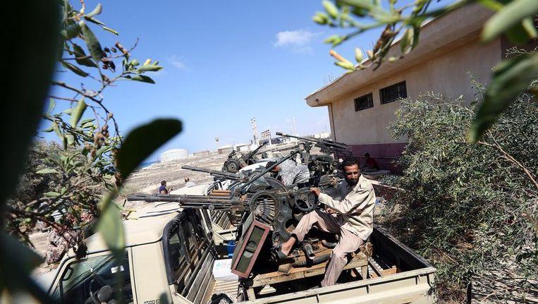 Libische leger Beeld ANP