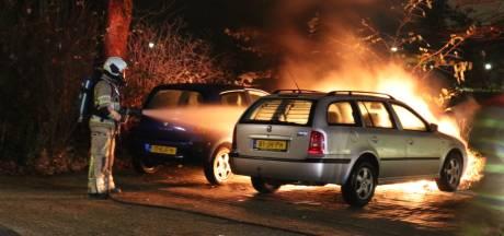 Twee arrestaties na acht autobranden in Nieuwegein