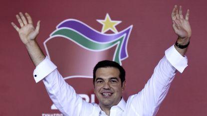 """Tsipras: """"Griekenland neemt vandaag lot weer in eigen handen"""""""