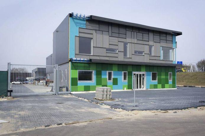 Het pand van ADA op het XL Businesspark is nog niet afgebouwd.