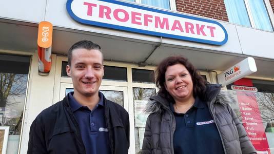 Remon Manders en Annemarie Gerrits van Troefmarkt.