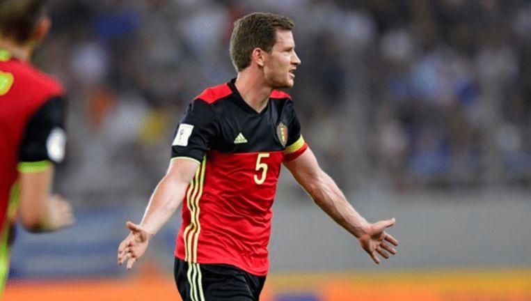 Vertonghen is nu officieel de Belgische recordinternational. Hij heeft net als Ceulemans 96 caps achter zijn naam staan.