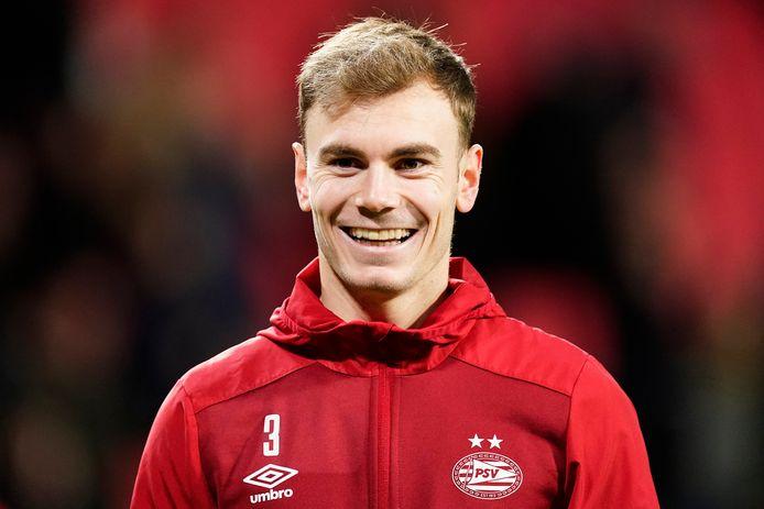 Toni Lato bleef ondanks moeilijke maanden positief gestemd bij PSV.
