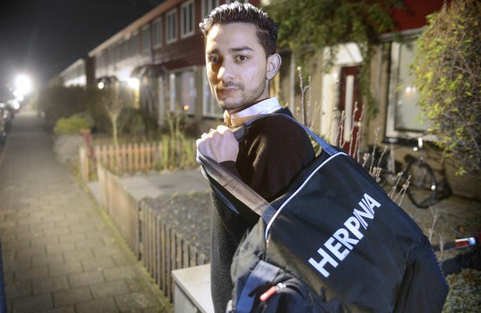 Mede dankzij de komst van Mustafa Seddiqi promoveerde Herpinia afgelopen seizoen met grote overmacht naar de vierde klasse.