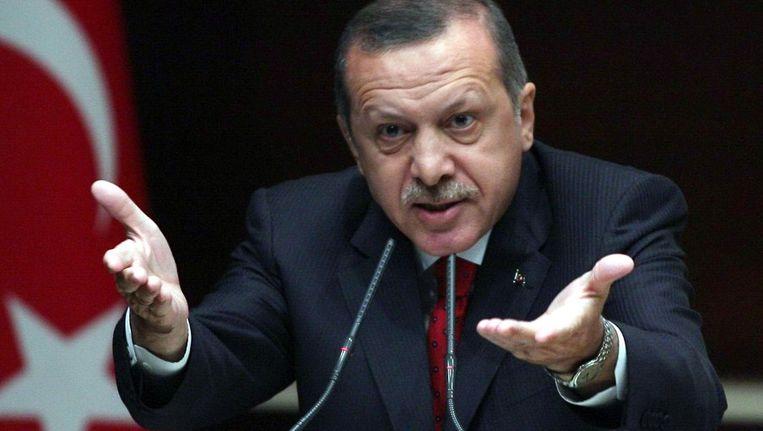 De Turkse premier Erdogan. Beeld ANP