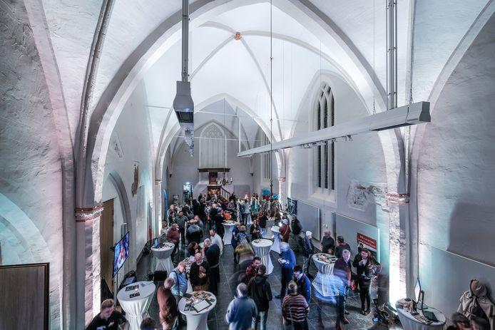In de Gasthuiskerk in Doesburg geldt de verplichting een mondkapje te dragen. Foto ter illustratie.