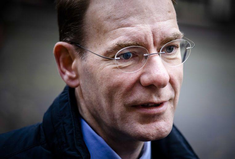 Staatssecretaris Menno Snel van Financiën. Beeld ANP - Bart Maat.
