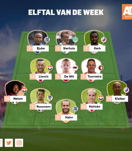 Willem II ondanks remise hofleverancier Elftal van de Week