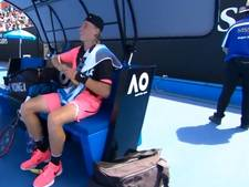 Shapovalov ruziet bij Australian Open met bananen