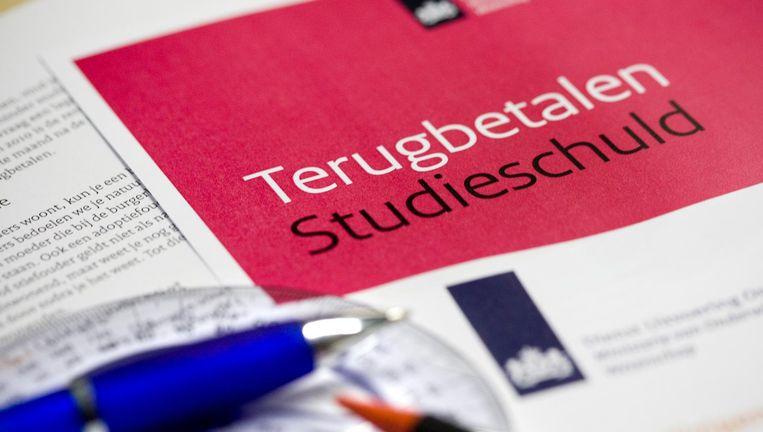 Om de groei van de totale studieschulden in toom te houden, pleit het Iso voor drie maatregelen Beeld ANP