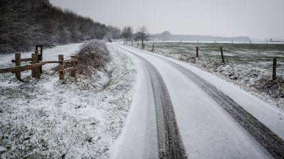 Kijk uit: komende uren risico op gladde wegen. Pas uw snelheid aan: code oranje in Brussel en Vlaams-Brabant