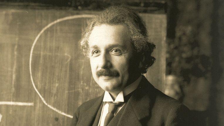 Einstein: seksformule E=mc2. Beeld -