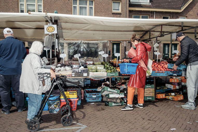 De Van der Pekmarkt in Noord. Beeld Jakob Van Vliet