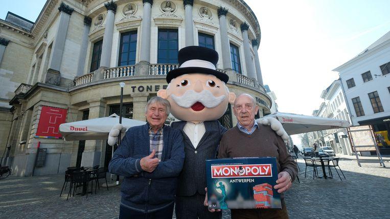 De Strangers zijn de peters van de nieuwe, op en top Antwerpse, Monopoly.