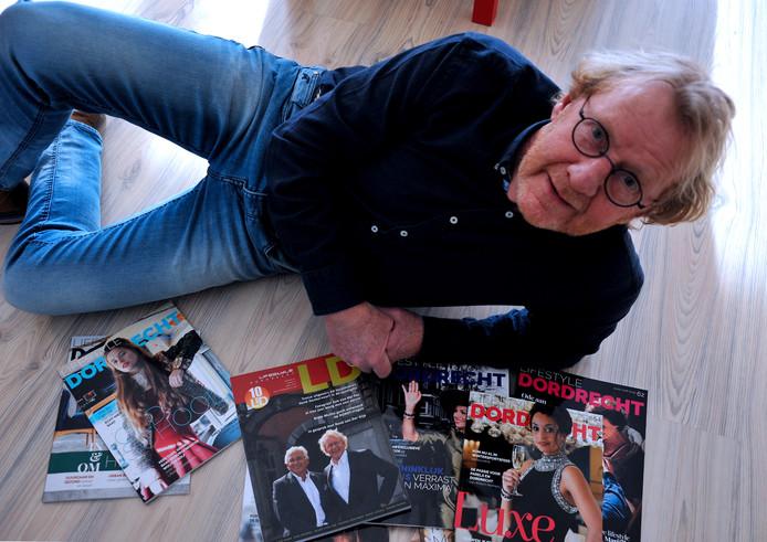 Henk Donkervoort was lange tijd uitgever van het magazine Lifestyle Dordrecht.