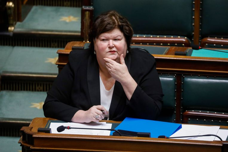 Minister van Asiel en Migratie Maggie De Block (Open Vld).