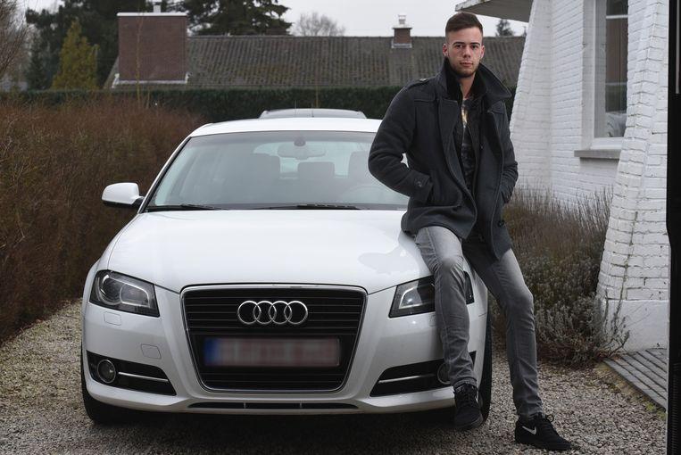Kristof Hermans heeft zijn auto terug.