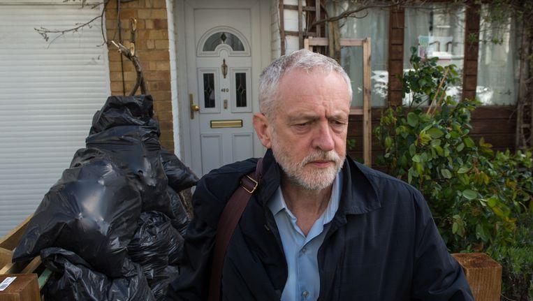Labour-leider Jeremy Corbyn Beeld null