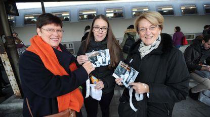 Witte lintjes tegen geweld op vrouwen