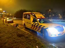 Auto vliegt uit de bocht bij Rijnsweerd