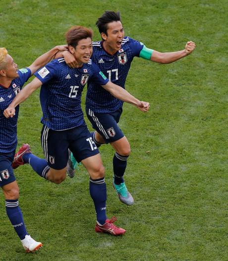 Japan grijpt drie punten na vroege rode kaart Colombia