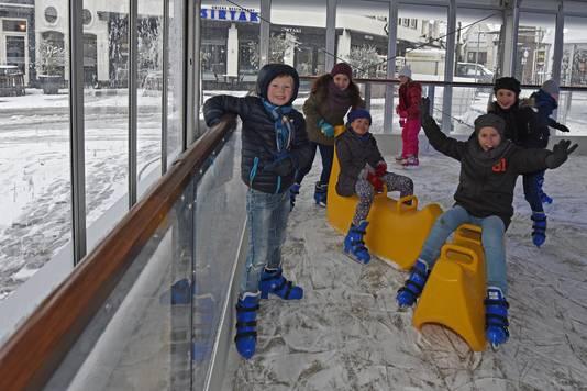 Kinderen van groep 5 en 6 van basisschool De Torenschouw in Oosterhout. Casper van Aggelen/Pix4Profs