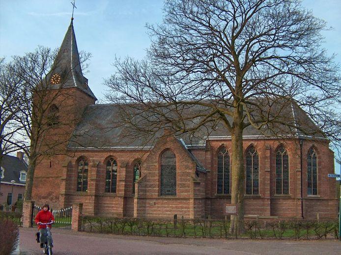 De hervormde kerk in Nieuwer ter Aa.
