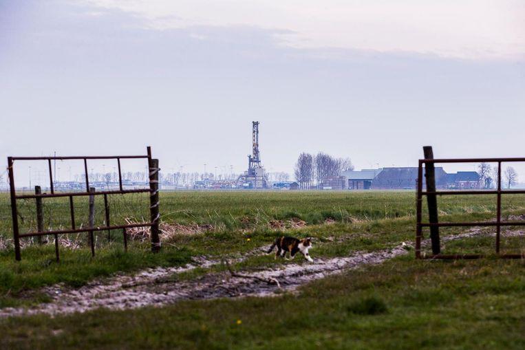 In Groningen wordt aardgas gewonnen. Beeld Anp