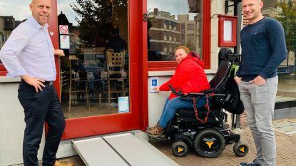 'Bellend vlak' moet horeca- en handelszaken toegankelijker maken voor rolstoelgebruikers