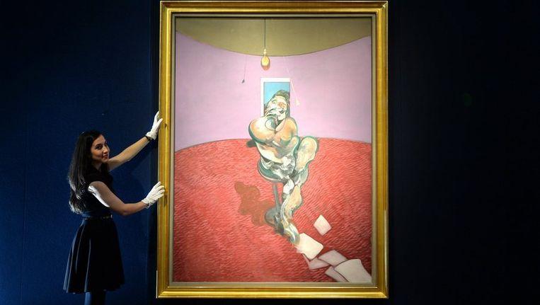 Het portret van George Dyer door Francis Bacon. Beeld photo_news