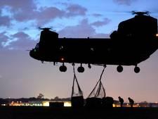 Nachtvliegoefeningen boven de Bommelerwaard