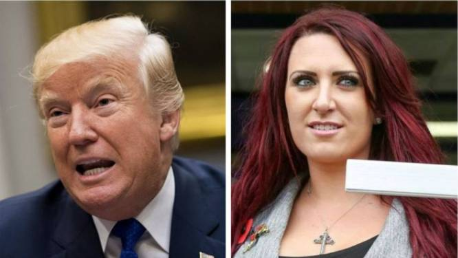 "Ultrarechtse Britse leidster smeekt Trump: ""Zorg dat ik niet in cel vlieg"""